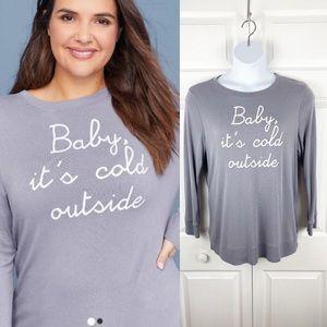Baby it's Cold Outside Crewneck Sweatshirt